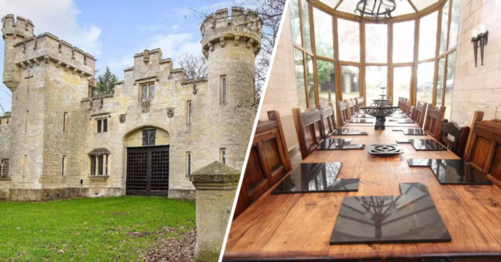 You and 15 Friends Can Rent a Castle From $17 Each per Night