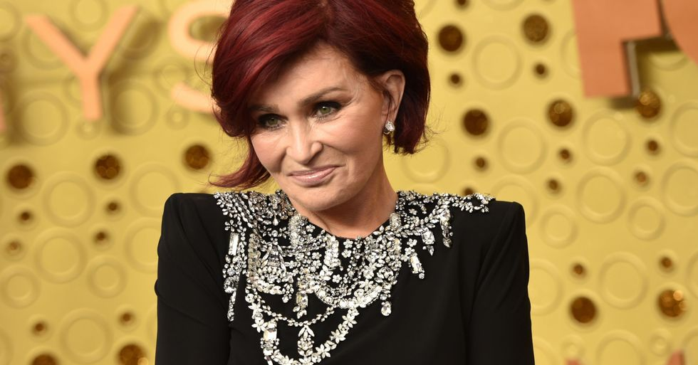 Sharon Osbourne Debuts Bright White Hair After Dying It Red for 18 Years