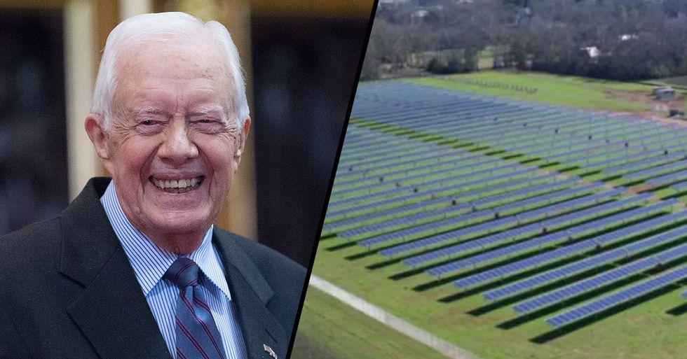 Jimmy Carter Built a Solar Farm in His Hometown and Now It Powers Half the Entire City