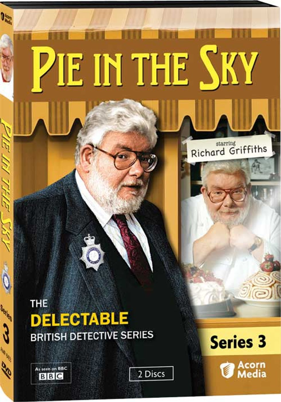 Pie In The Sky Series 3 On DVD -- More Delectable Mysteries