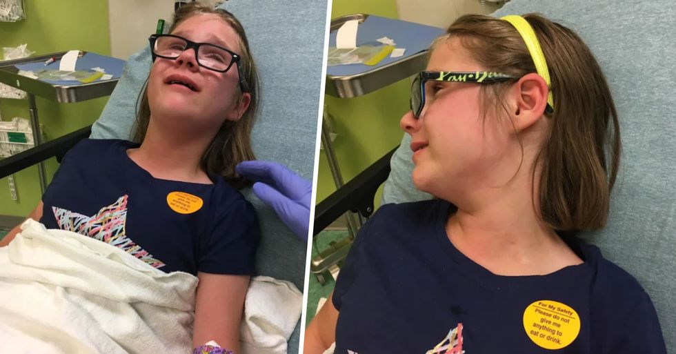 Mom Shares Important Post About Anti-Vax Dangers After Daughter Falls Ill
