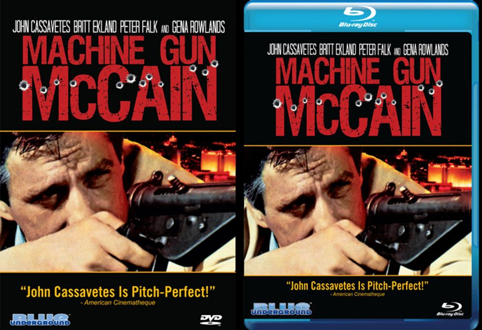 Machine Gun McCain On DVD And Blu-ray