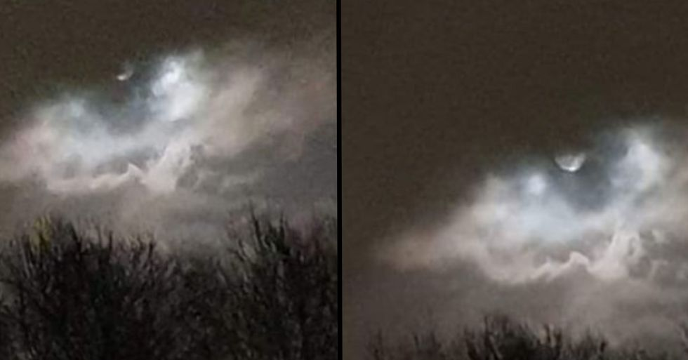 'Eye of the Storm' Captured in Incredible Photos of Full Moon
