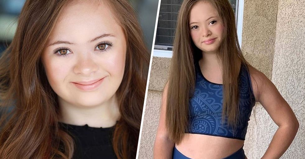 Teen With Down's Syndrome Becomes a Model After Doctors Told Mom to Put Her in an Institution