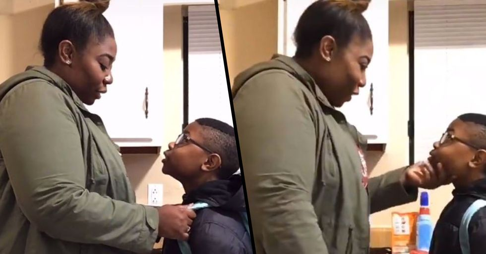 Video of Mom Teaching Son 'How to Be Black in America' Is Heartbreaking
