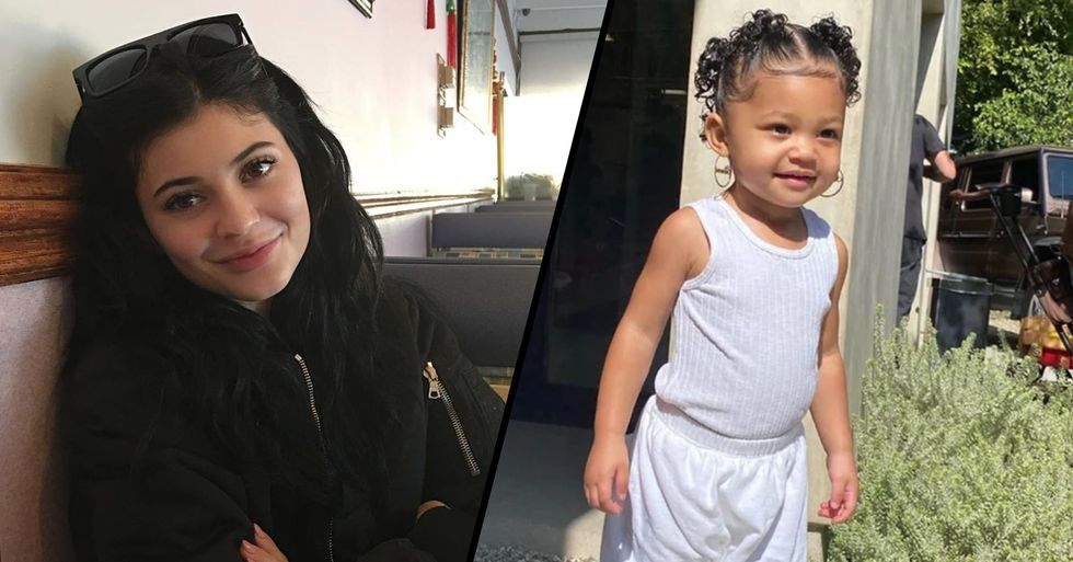 Kylie Jenner Mom-Shamed Over New Picture of Her Daughter Stormi