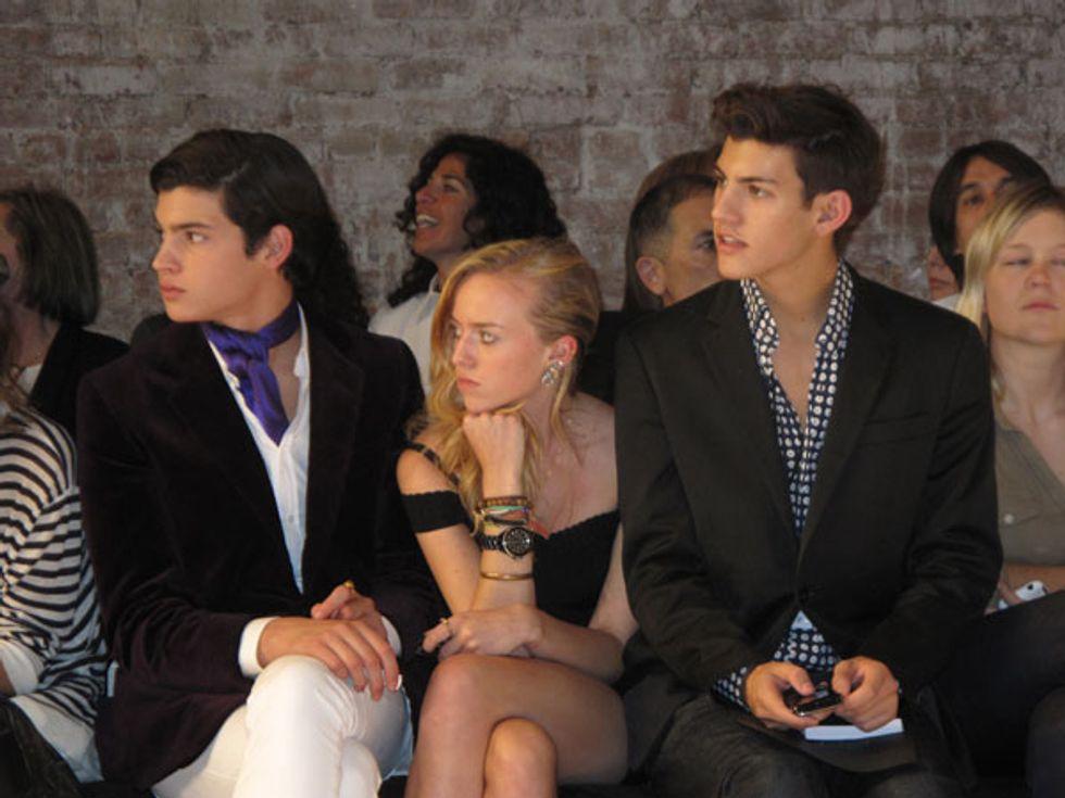 Peter Brant Jr.: The new It-boy of Fashion Week?