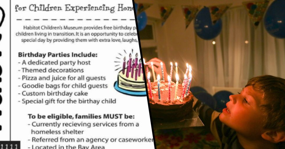 Children's Museum Throws Free Birthday Parties for Kids Experiencing Homelessness