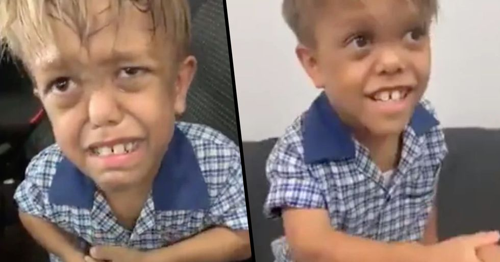 Brave Boy Bullied for Having Dwarfism Gives Perfect Advice to Other Bullied Kids