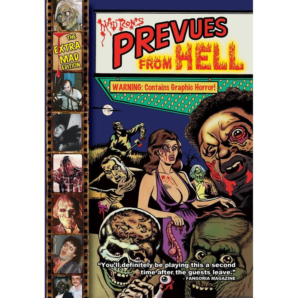 Mad Ron's Prevues From Hell on DVD