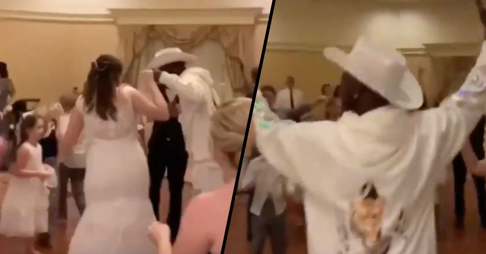 Lil Nas X Crashes Wedding Reception at Disney World