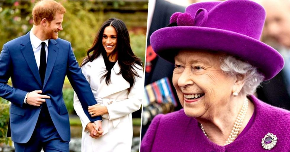 Harry and Meghan Call BS, Say Queen Doesn't Own the Term Royal