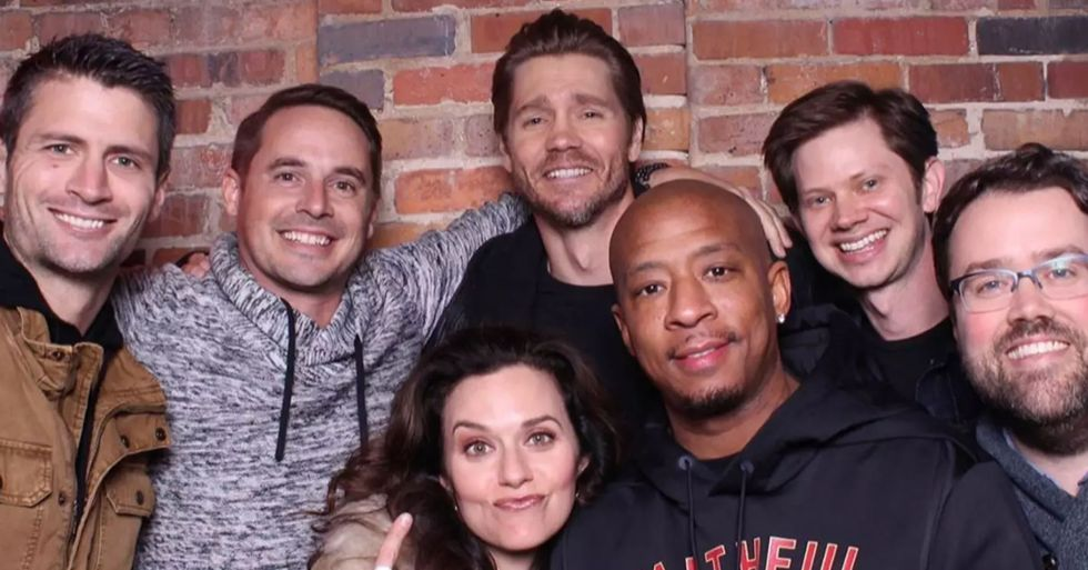 Cast of 'One Tree Hill' Reunite Eight Years After Show Ended