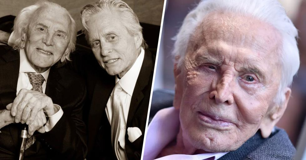 Kirk Douglas Promised to Leave $80 Million Fortune to Charity After He Died
