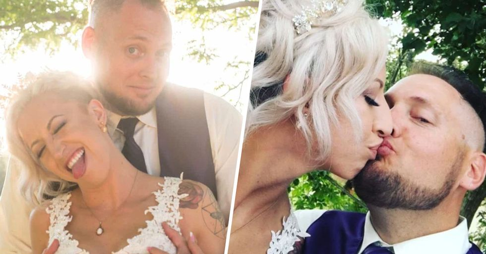 Couple Have Weed-Themed Wedding Complete With a $400 Bong
