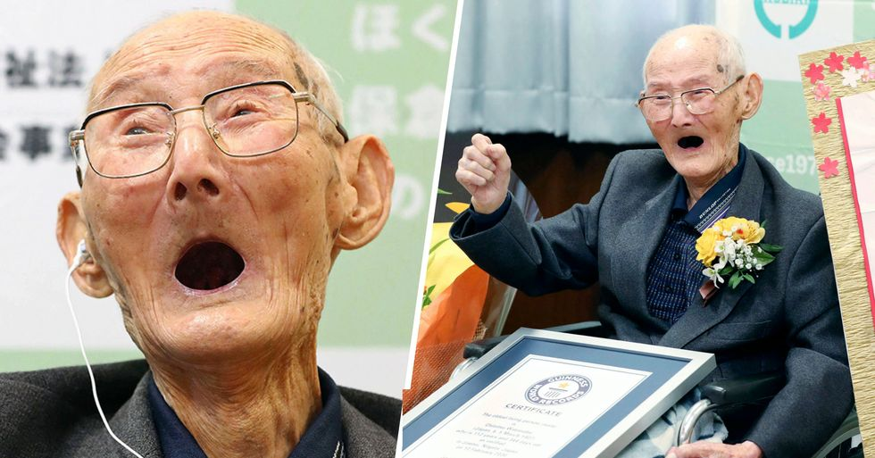 World's Oldest Man Dies Just Days After Claiming World Record