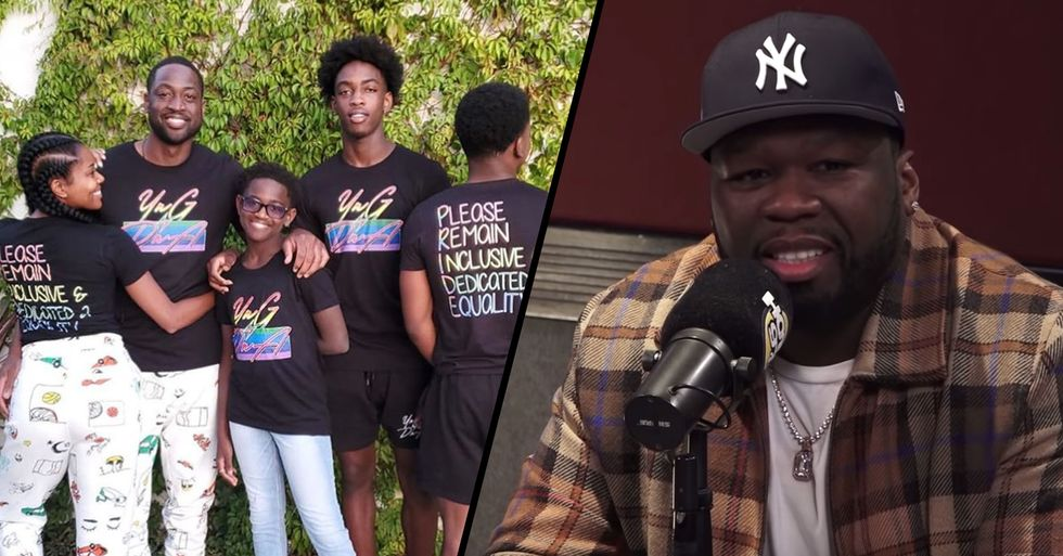 The Latest 50 Cent Trolling Victim Is Dwyane Wade's 12-Year-Old Transgender Child