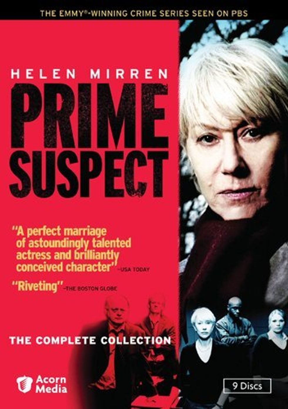 Prime Suspect: The Complete Collection On DVD