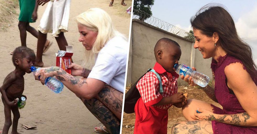 Little Boy Who Went Viral When His Parents Left Him to Starve Has Had His First Day of School