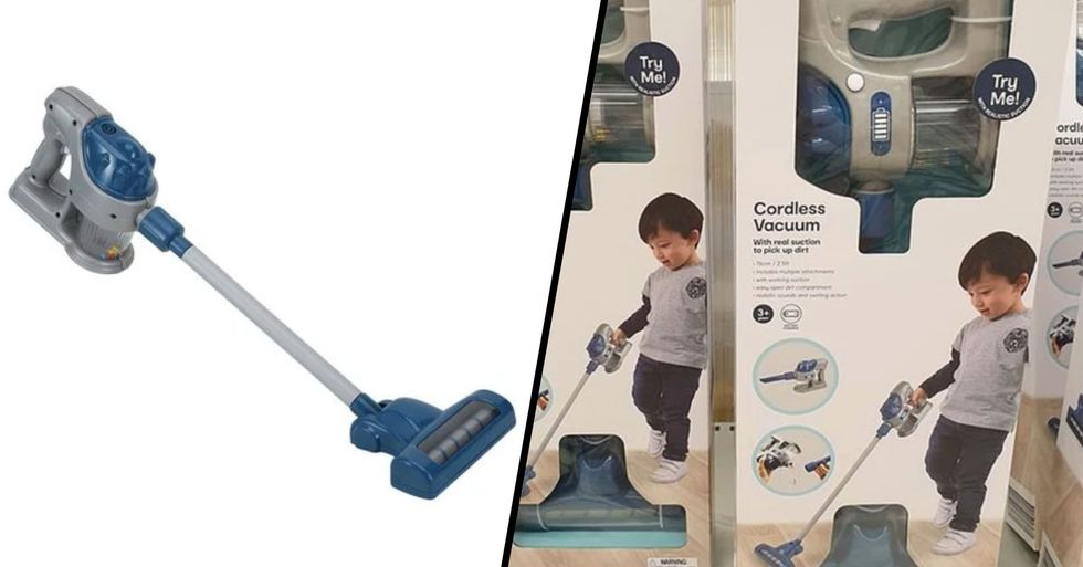 You Can Now Buy a Cordless Vacuum Cleaner so Kids Can Play and Clean at the Same Time