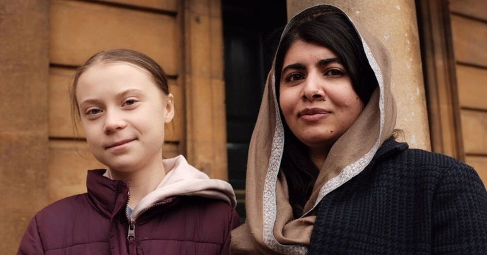 Greta Thunberg Met Malala Yousafzai and It Was Everything We Hoped It Would Be