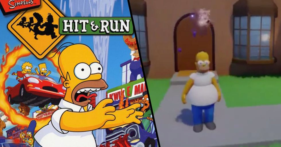 'The Simpsons: Hit & Run' Has Been Remade on PS4 by a Fan