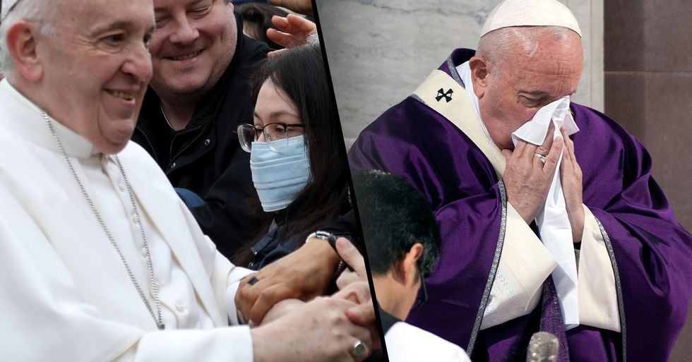 Pope Taken Ill One Day After Shaking Hands With Italian Public Amidst Coronavirus Outbreak