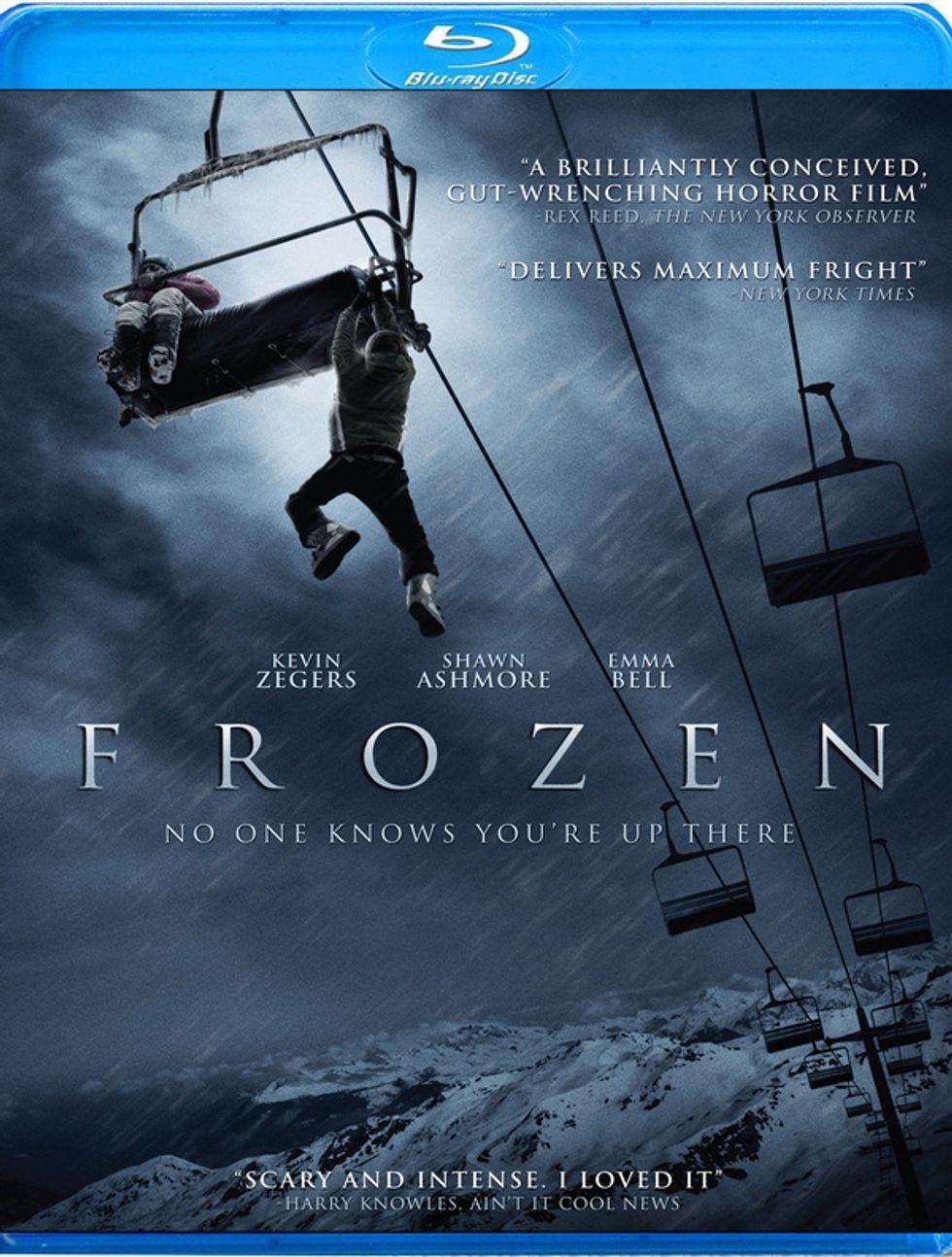 Chilling Frozen On DVD & Blu-ray
