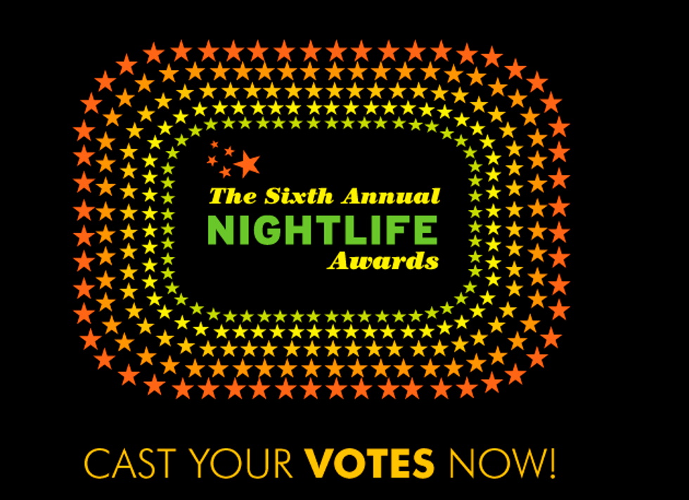 The Nightlife Awards Are Coming... Let the Voting Begin.