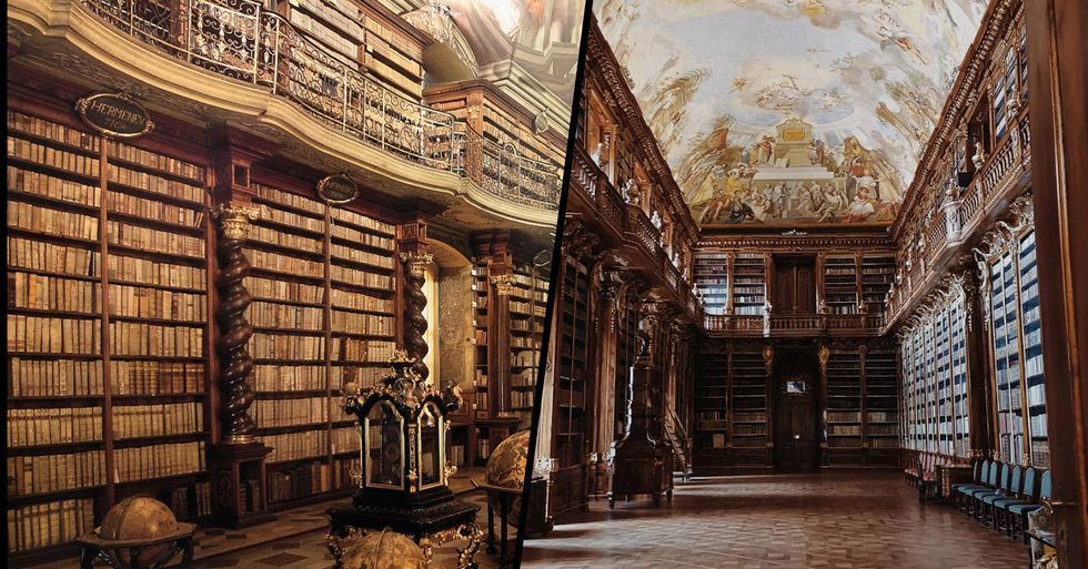 The Internet Is Falling in Love With This Stunning Library in Prague