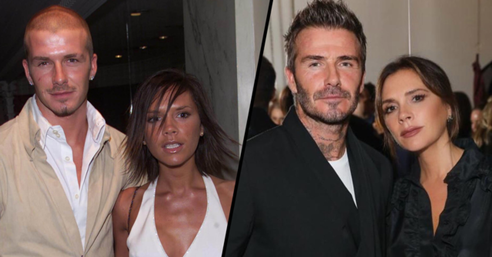 David Beckham Still Has the Train Ticket Victoria Wrote Her Number on 23 Years Later