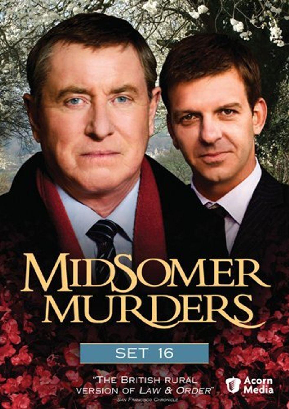 More Marvelous Mysteries -- Midsomer Murders Set 16 On DVD