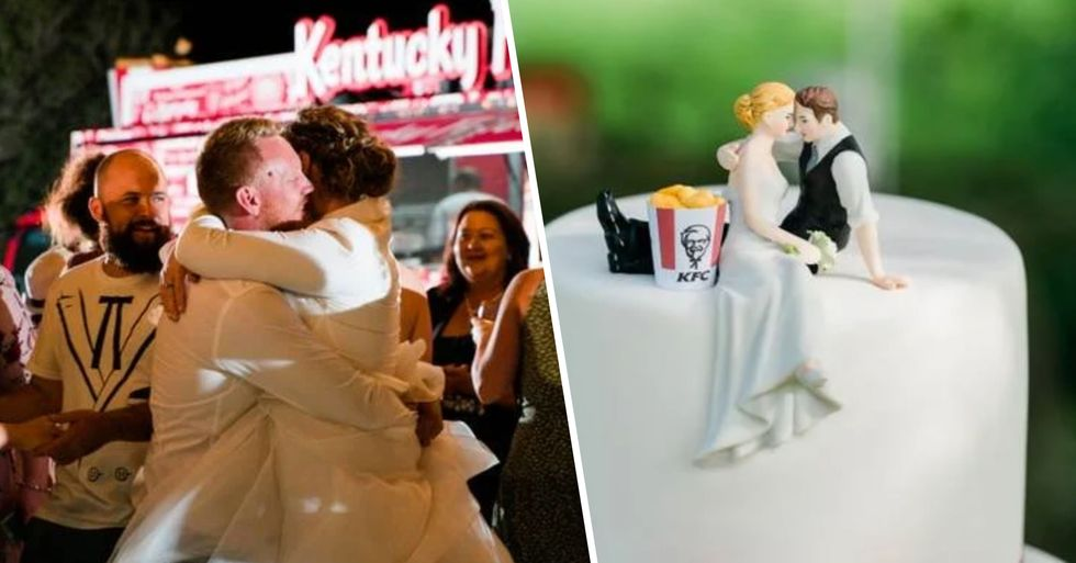 A Couple Just Had the World's First KFC Wedding