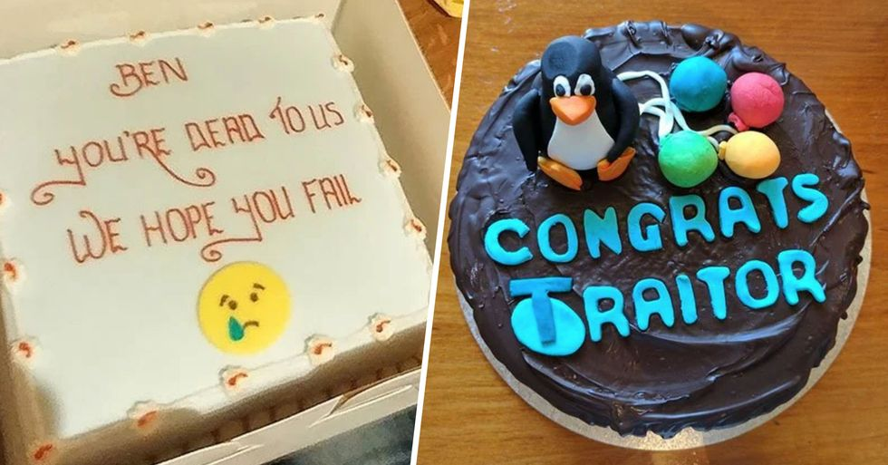 The Internet Is Going Crazy for These Farewell Cakes That Employees Got on Their Last Day on the Job