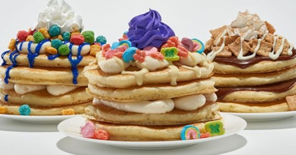 IHOP Is Now Selling Cereal Pancakes and There's a Fruity Lucky Charms Stack