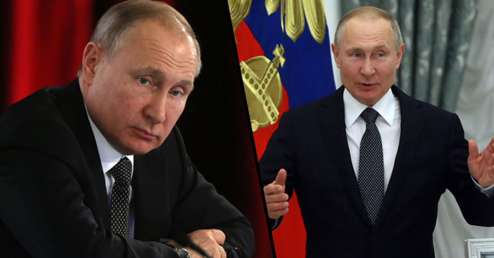 Putin Seeks Constitutional Ban on Same-Sex Marriage, Says It's His 'Duty' to Stop Gay People Getting Married
