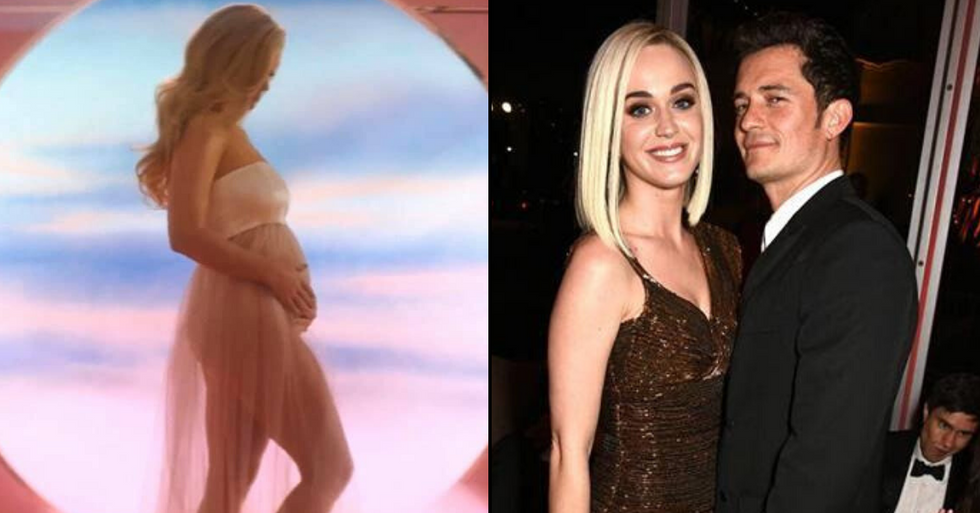 Katy Perry Announces She's Pregnant With her First Child With Orlando Bloom