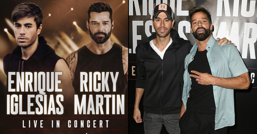 Enrique Iglesias and Ricky Martin Announce Joint Tour Together