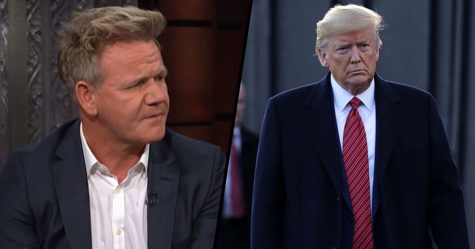 Gordon Ramsay Is Facing Backlash After Refusing to Cook for Donald Trump