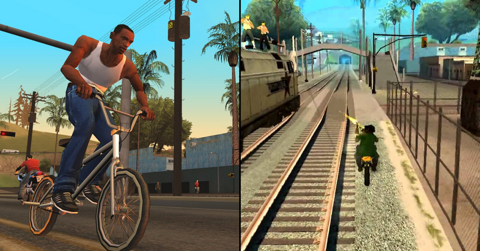 GTA San Andreas Voted Best PS2 Game of All Time