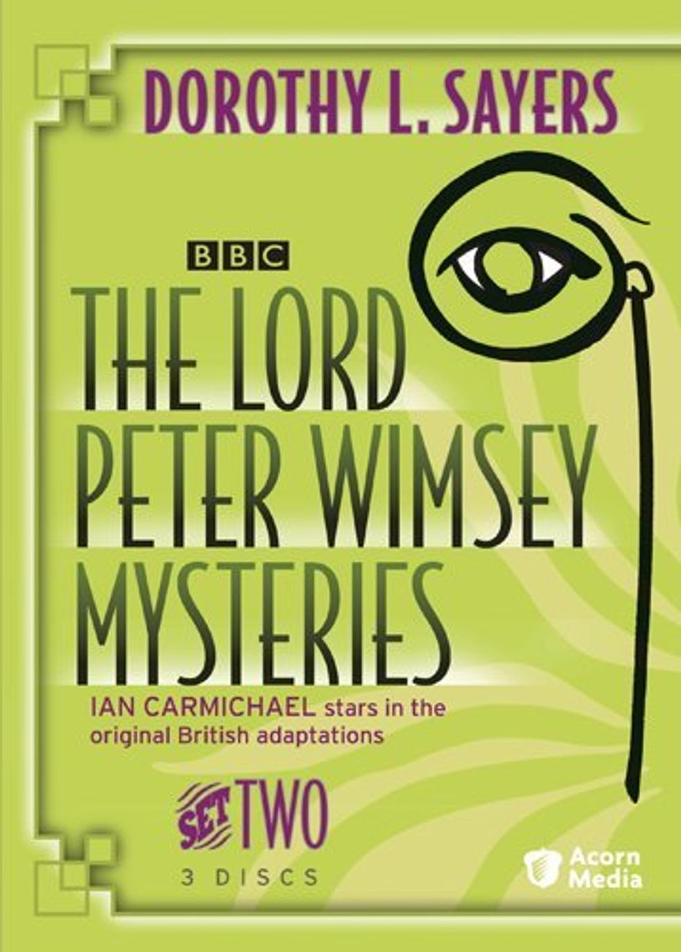 """Enjoyable Period Puzzles,"" The Lord Peter Wimsey Mysteries, Set Two, Are Out On DVD"