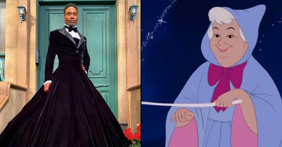 Fairy Godmother Will Be 'Genderless' in New Cinderella Movie