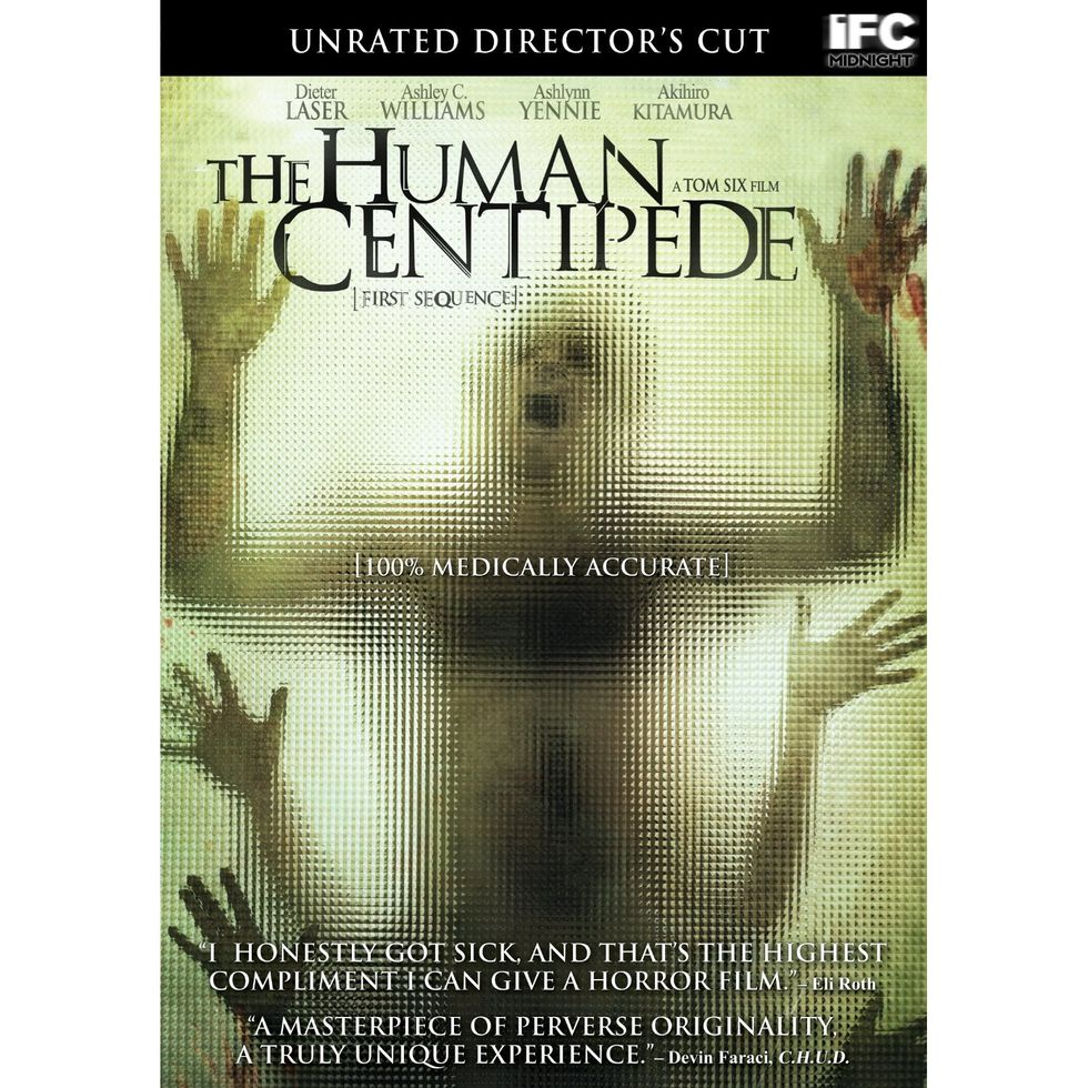 The Human Centipede Out On Blu-ray And DVD