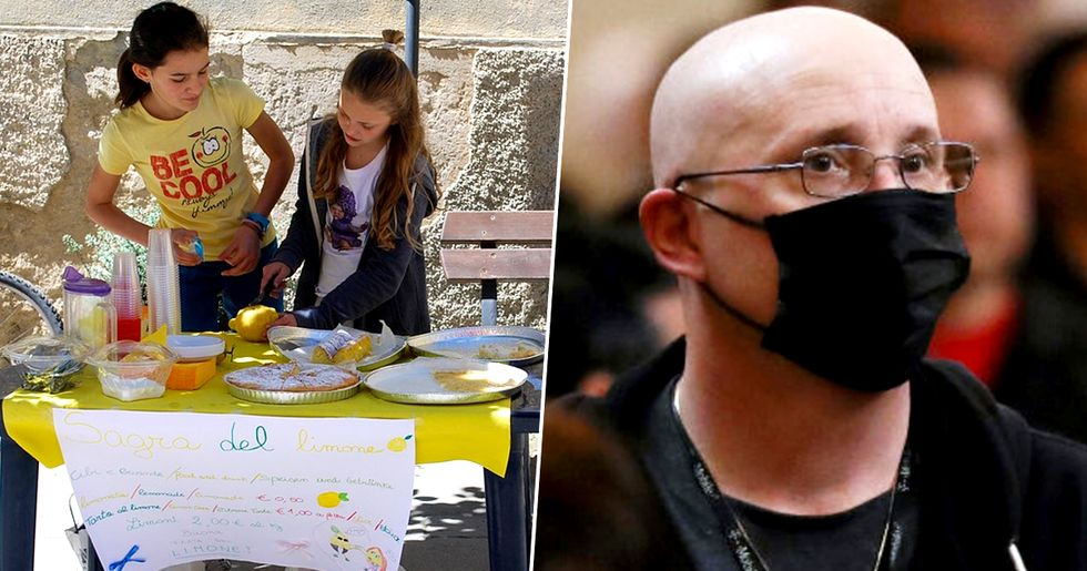 Kids Selling Hand Sanitizer Instead of Lemonade to Combat Coronavirus