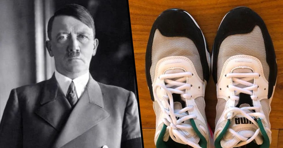 Puma Sneakers Are Being Mocked for Looking Like Adolf Hitler