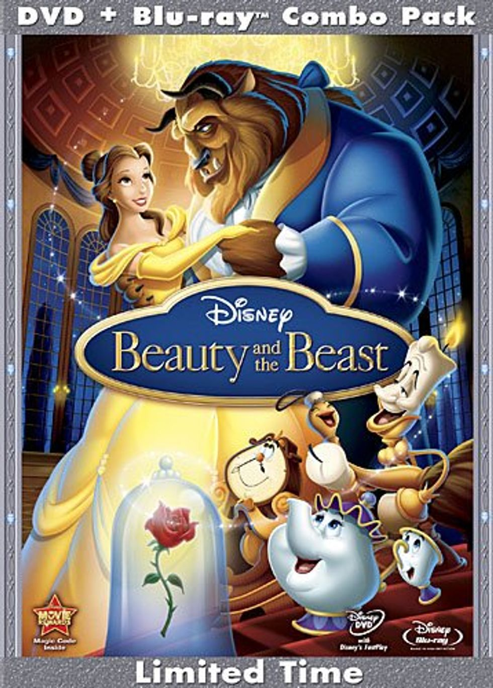 Beauty and the Beast On Blu-ray And DVD