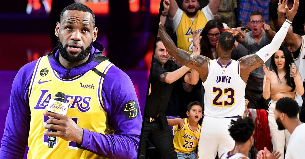 LeBron James Refuses to Play If NBA Bans Fans Over Coronavirus