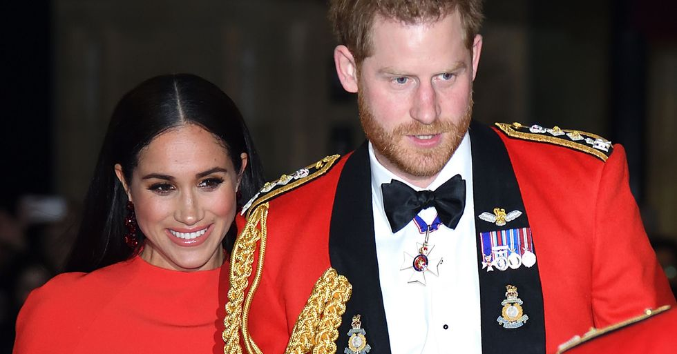 Queen Elizabeth Takes a Swipe at Meghan Markle and Prince Harry in Latest Speech