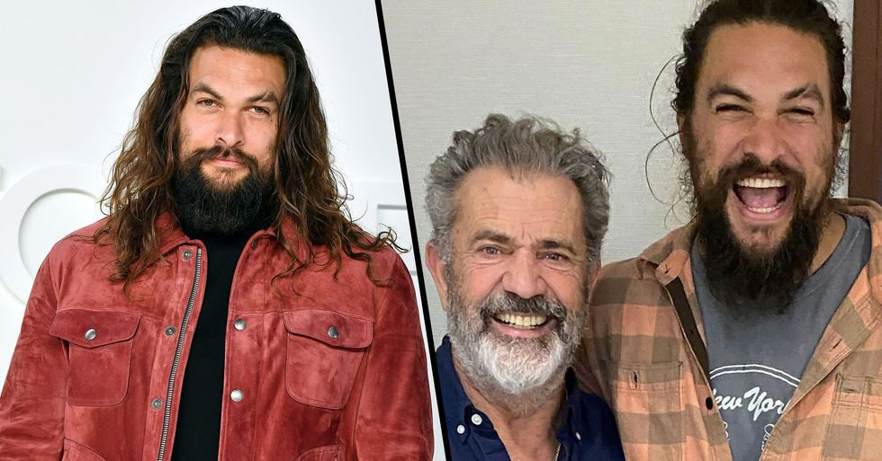 People Unfollow Jason Momoa After He Posted a Controversial Pic With Mel Gibson