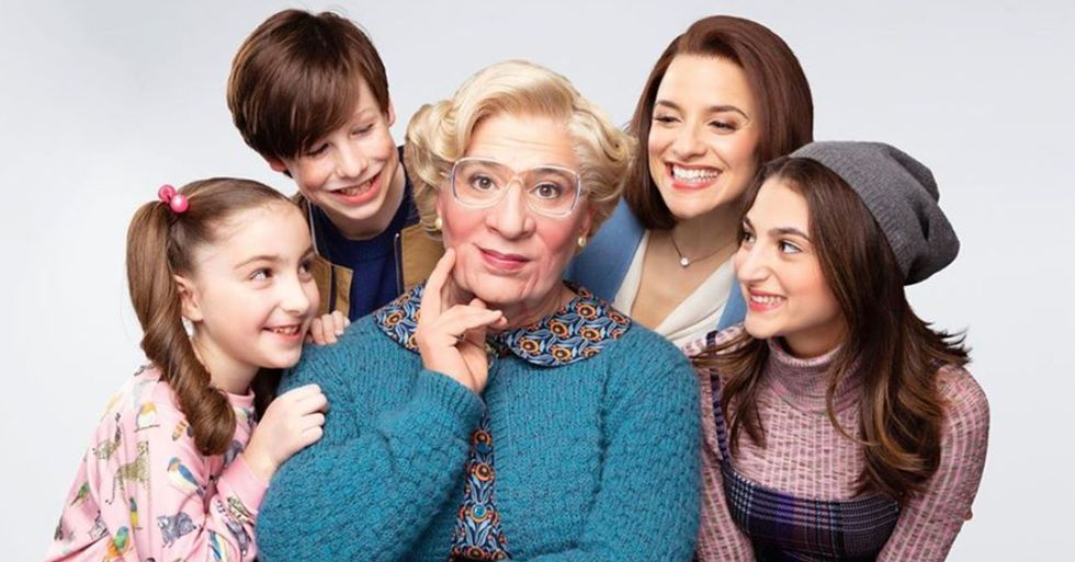 First Look at New 'Mrs. Doubtfire' Has Been Revealed